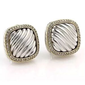 Jewelry - David Yurman Diamond Albion earrings